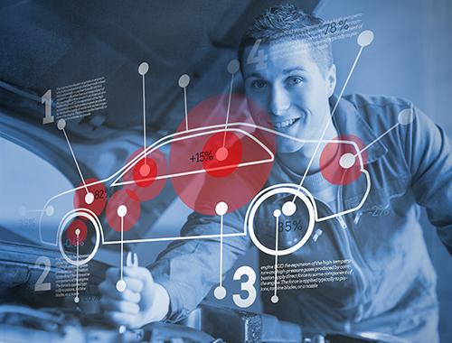 diagnose car problem and check engine light