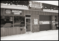 Steve's Auto Care first building Warsaw, IN